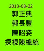 民間醫療小組郭正典、郭長豐、陳昭姿探視陳總統 20130822- 台灣e新聞