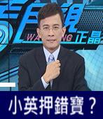 小英押錯寶?- 台灣e新聞