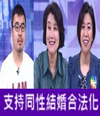支持同性結婚合法化 (婚姻不再限男女!有話好說)  -台灣e新聞