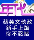 蔡英文執政 新手上路 慘不忍睹- 台灣e新聞