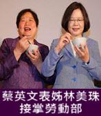 蔡英文表姊林美珠接掌勞動部  - 台灣e新聞