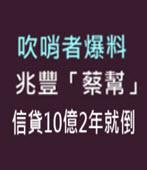 吹哨者爆料 兆豐「蔡幫」信貸10億2年就倒 - 台灣e新聞