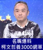 名嘴爆料 柯文哲養3000網軍- 台灣e新聞