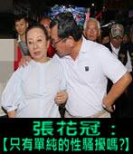 張花冠:【 只有單純的性騷擾嗎?】-台灣e新聞