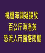 桃機海關疑誤放 百公斤海洛英恐流入市面-台灣e新聞