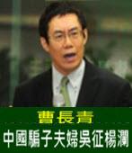 曹長青痛批中國騙子夫婦吳征楊瀾 - 台灣e新聞