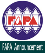 FAPA Announcement  -◎Peter Chen - 台灣e新聞