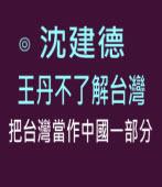 沈建德:王丹不了解台灣,把台灣當作中國一部分 -台灣e新聞