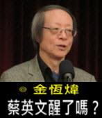 《金恆煒專欄》蔡英文醒了嗎?- 台灣e新聞