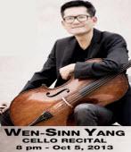 10月5日「台灣名家演奏系列」享譽歐洲的台裔大提琴名家──楊文信 - 台灣e新聞