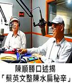 陳順勝口述揭「蔡英文整陳水扁秘辛」-◎陳永興醫師電台 -台灣e新聞