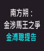 南方朔指金涉馬王之爭 金溥聰提告 -台灣e新聞