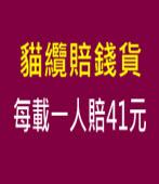 貓纜賠錢貨 每載一人賠41元 - 台灣e新聞
