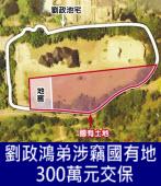 劉政鴻弟涉竊國有地 300萬元交保 -台灣e新聞