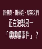 許信良、謝長廷、蔡英文們正在泡製另一「嘿嘿嘿事件」?-台灣e新聞