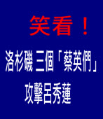 笑看!洛杉磯 三個「蔡英們」攻擊呂秀蓮 -台灣e新聞