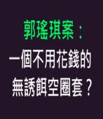 郭瑤琪案:一個不用花錢的無誘餌空圈套?-陪審團推動聯盟  -台灣e新聞