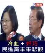 【冷血蔡英文+奸巧謝長廷】民進黨未來悲觀-台灣e新聞