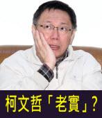 柯文哲「老實」?-台灣e新聞
